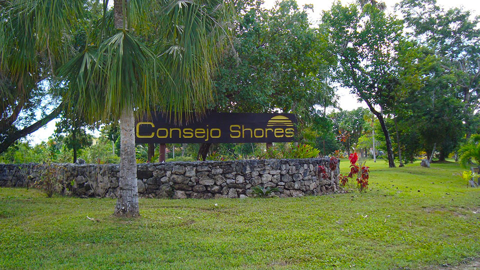 Consejo Shores Entrance Sign
