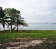 View of Corozal Bay from Playa del Consejo